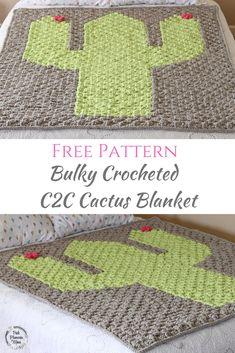 Free Crocheted Pattern for Bulky Crocheted C2C Cactus Blanket | free crochet pattern | Free crochet pattern | Crochet blanket | crochet blanket | Free pattern crochet blanket | free pattern crochet blanket | Crochet cactus | crochet cactus | Free crochet cactus | free crochet cactus | crochet | Crochet | Crochet baby | crochet baby | crochet baby blanket | Crochet baby blanket | c2c crochet | free pattern c2c crochet | #crochet #crochetpattern #crochetcactus #crochetbaby #crochet blanket