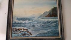 Sea Scape. 16x20 oil on canvas