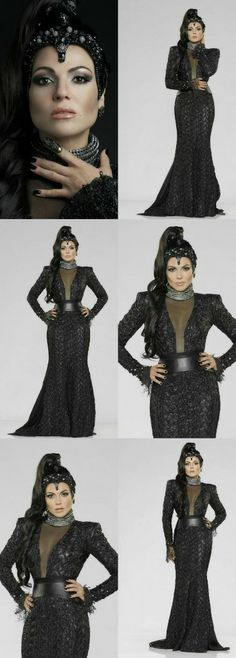 "ABC's ""Once Upon a Time"" stars Lana Parrilla as Evil Queen...Godess! New 2014 Promo Pictures."