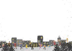 #겨울 #밴드 #군악대 #음악 #여행 #야경 #밤 #일러스트 #뚜잉 #일러스트레이터 #winter #band #marchingband #season #snow #nightview #イラスト #illust #illustration Illustration, It Works, Multi Story Building, Illustrations, Nailed It