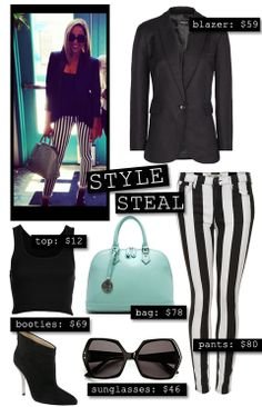 Black & White Style Steal Tia Mowry!!!! Love love love this sleek, professional look. No expensive at all!!