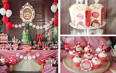 Little Red Riding Hood themed birthday party via Kara's Party Ideas KarasPartyIdeas.com #littleredridinghood #partyideas