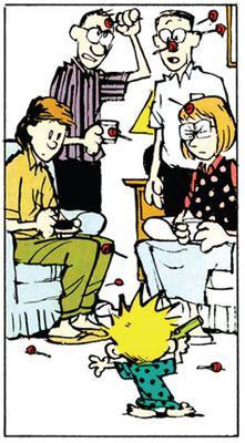 Take That! #Calvin&Hobbes