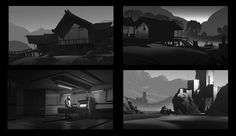 ArtStation - Composition Sketches, Robby Johnson