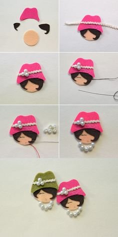 lovely beaded doll, wanna them? LC.Pandahall.com will release the tutorial soon.