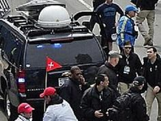 "BREAKING: PHOTO SURFACES OF ""THE CRAFT"" MOBILE COMMUNICATIONS VAN AT BOSTON MARATHON. The Craft is a group of private military operatives who have been revealed through a fast-growing number of photos published by Natural News and Info Wars. The mainstream media is engaged in a total blackout and refuses to run any photos of The Craft operatives. This story is quickly becoming the biggest media cover-up in history."