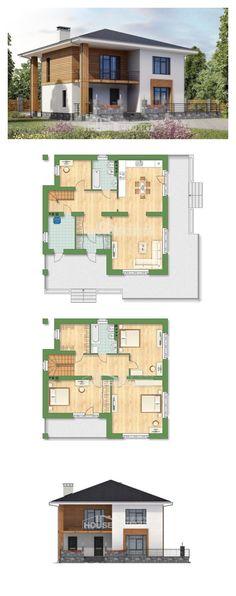 Ev villa projesi 180-015-R | House Expert