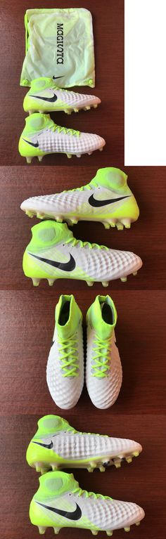Men 109133: Nike Magista Obra Ii Fg Soccer Cleats Size 9 Yellow White Mens 844595-109 -> BUY IT NOW ONLY: $129.95 on eBay!