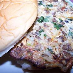 best veggie burger yet! similar to Money's Mushroom Gardenburger. yum.