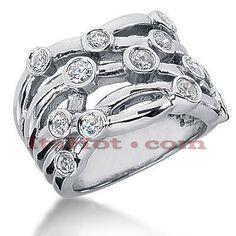 This Round Diamond Right Hand Ring.