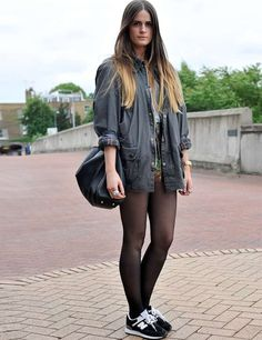 love this girl properly wearing barbour