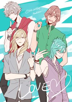 Quartet Night Twitter - @kkk_ocelot Support the original artist!