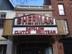 The Sherman Theater in Stroudsburg, home of many great concerts and live events year-round! #PoconoMtns
