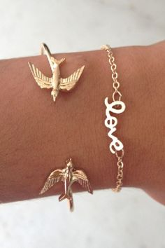 SABO SKIRT Love Bracelet - Gold - (No Colour Specified) - 12.0000