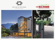 """Svolta green per Il Du Lac et Du Parc Grand Resort - Una colonnina per la ricarica di auto elettriche o ibride plug in, dotata di due prese tipo 2 da 7kw, è stata recentemente installata presso il parcheggio dell'hotel: un nuovo servizio è a disposizione per gli ospiti """"green"""" che soggiorneranno presso il Du Lac et Du Parc Grand Resort, situato a Riva del Garda. Il prestigioso hotel, è da decenni un rinomato punto di riferimento per l'offerta turistica del Trentino e del lago di Garda."""