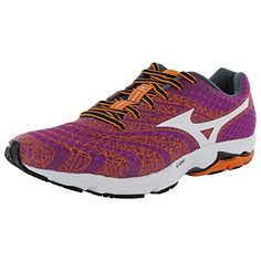Mizuno Womens Wave Sayonara 2 Running Shoe Baton RougeWhite 105 B US *** Read more reviews of the product by visiting the link on the image.