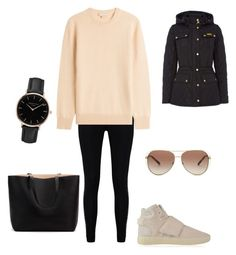 """Untitled #208"" by roo-v on Polyvore featuring Boohoo, Michael Kors, adidas Originals, Barbour and Topshop"