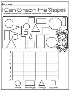 I Can Graph Shapes!: