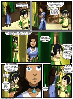 Katara and Toph: The First Date