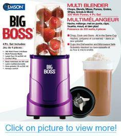 Big Boss 8867 4-Piece Personal Countertop Blender Mixing System, 300-watt, Purple #Big #Boss #4_Piece #Personal #Countertop #Blender #Mixing #System #300_watt #Purple