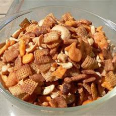 Hot and Spicy Party Mix Recipe