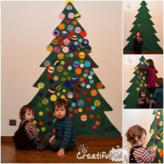 A felt Christmas tree is the perfect answer when you have small kids and few space in the house. This is how I did our felt Christmas tree for kids which was also a great Christmas craft activity for the kids. Before I get into the details on how to make a felt Christmas tree for kids, allow ...