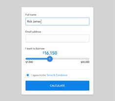 Simple Form with Toggle Slider & Button - http://www.welovesolo.com/simple-form-with-toggle-slider-button-2/
