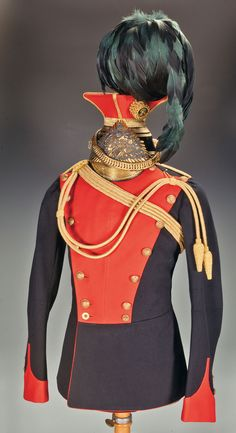 5th Royal Irish Lancer officer's tunic and czapka ca.1902