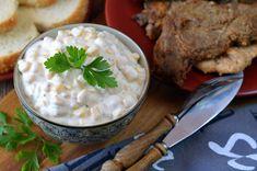 Majonézes kukoricasaláta 🍴 Camembert Cheese, Grains, Dairy, Rice, Food, Essen, Meals, Seeds, Yemek