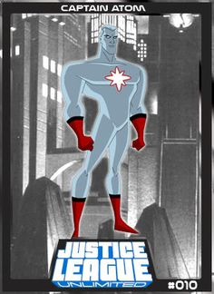 Justice League Unlimited Cards Main Series(Revised | .: JLW ? All Justice League?All The Time :.