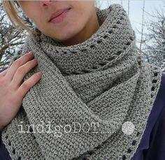 Calm cowl crochet-along: Week 1 | The Craft Blog