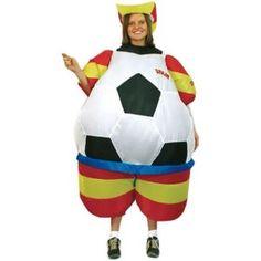 Disfraz de balón hinchable España