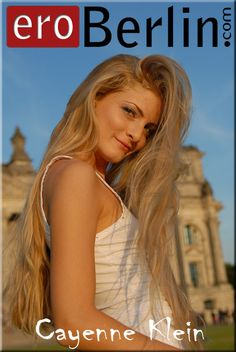 Sweet Cayenne Klein with her nice blond long hair visit Berlin