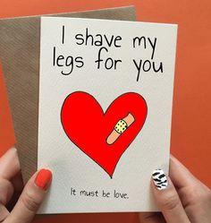 funny boyfriend card