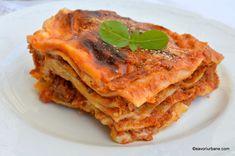 reteta lasagna a la bolognese explicata pas cu pas