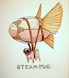 Just a steam pug. What a fine sir. - Imgur