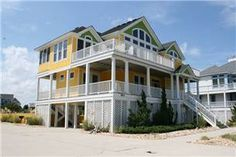 Mellow Yellow Outer Banks Rentals | Buck Island - Semi-Oceanfront OBX Vacation Rentals