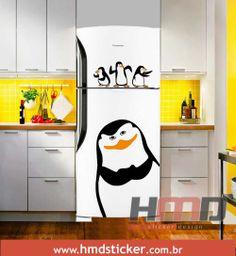 Kitchen Display, Kitchen Storage, Refrigerator Wraps, Frigidaire, Interior Decorating, Interior Design, Sticker Design, Painted Furniture, Sweet Home