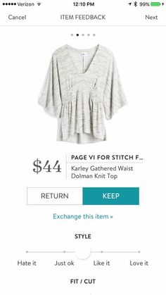 Harley, if you are still my stylist, is this available in another color? Plus if it is a loose knit a large might fit better than an xl.
