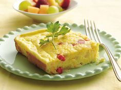 Get this egg dish for six in the oven far faster than making individual omelets one at a time on the stove.