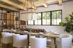 Indoor Outdoor Kitchen, Outdoor Living, Calacatta Gold Marble, Oak Shelves, Garden Studio, Dining Nook, Architect Design, Modern Rustic, Beautiful Homes
