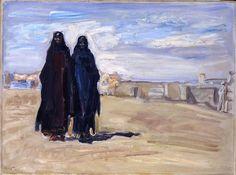 Sudanesische Frauen; 1914; Slevogt, Max (1868-1932)