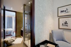Luxury Bedroom details in Atrium Building - London | SISSY FEIDA INTERIORS