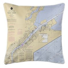 Toledo Harbor Nautical Chart