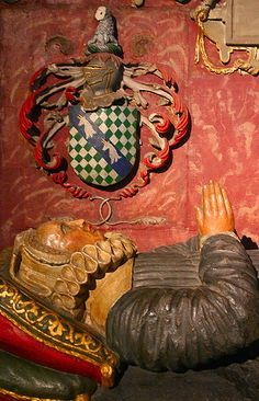 Dame Joane the Faithful Wyfe.  Wife of Sir John Young Knight, previously to Sir Gyles Straingewayes Knight, who as the epitaph puts it, departed this mortal lyfe on 14th of June 1603 aged 70 yeeres. Her tomb is in Bristol Cathedral.