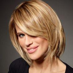 Modele de coiffure cheveux mi long - http://lookvisage.ru/modele-de-coiffure-cheveux-mi-long/ #Cheveux #Beauté #tendances #conseils