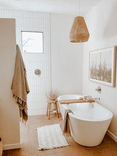 Home Room Design, Dream Home Design, Bathroom Interior Design, Home Interior, House Design, Room Ideas Bedroom, Bedroom Decor, Boho Home, Aesthetic Room Decor