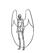 how do angels sit? by squidlifecrisis (squidlifecrisis actually has a lot of guides and references for angel/winged characters. Potentially useful.)