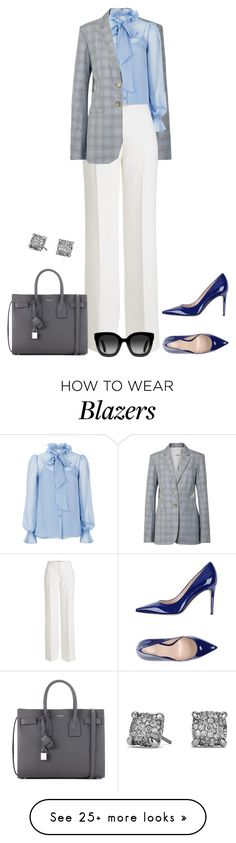 """Untitled #3865"" by elia72 on Polyvore featuring TIBI, Temperley London, Agnona, Yves Saint Laurent, David Yurman and Gucci"