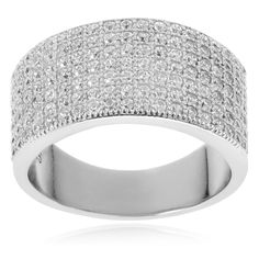 Journee Collection Sterling Cubic Zirconia Ring